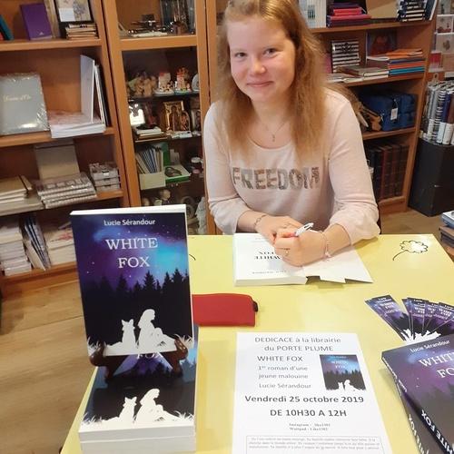 À 17 ans, la jeune Malouine publie son 1er roman