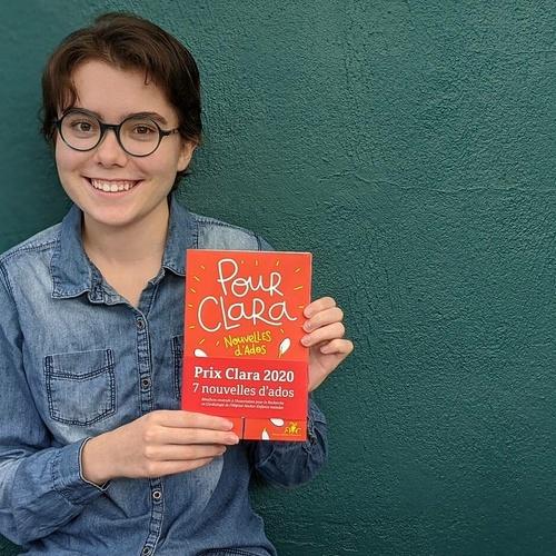 À 15 ans, Loreleï remporte le Prix Clara et sa nouvelle est publiée