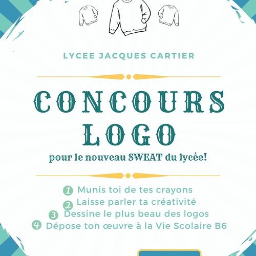 Un concours de logo pour le nouveau sweat du lycée !