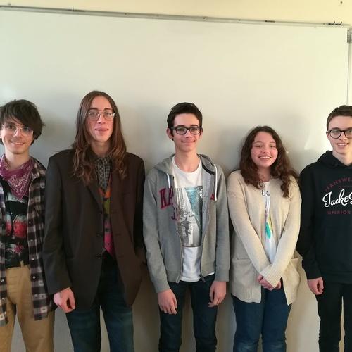 7 élèves de la 2nde C remportent la 2ème place du Rallye Mathématiques de Bretagne