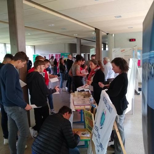 Forum des associations écolos au lycée : une première édition réussie