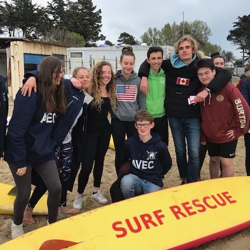 Houlgate : dix de nos lycéens qualifiés pour le championnat français du sauvetage côtier !