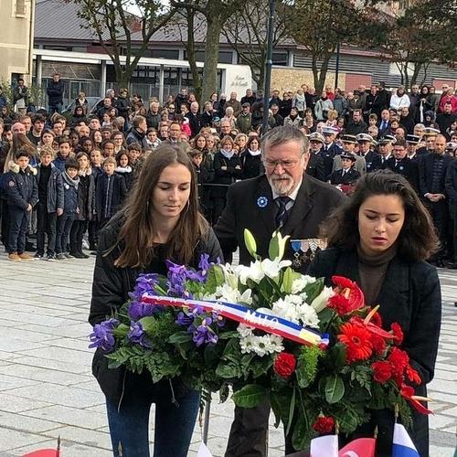 11 Novembre : cérémonie émouvante avec 250 jeunes