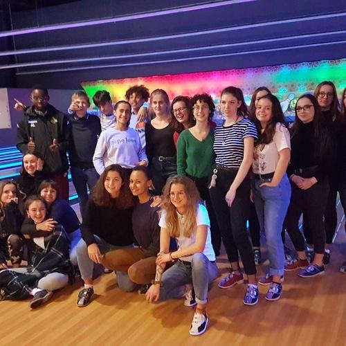 Sortie au bowling pour les internes de l''Association Sportive