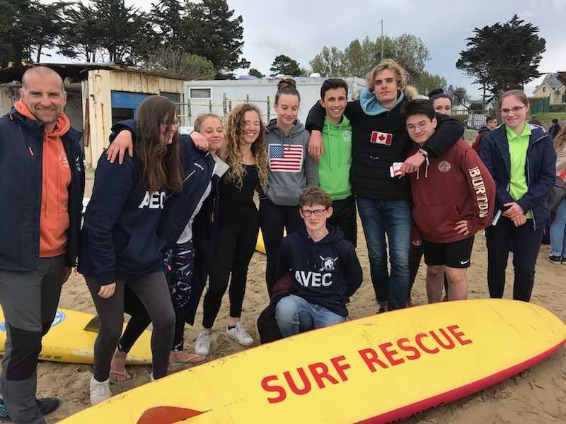 Houlgate : dix de nos lycéens qualifiés pour le championnat français du sauvetage côtier ! 0