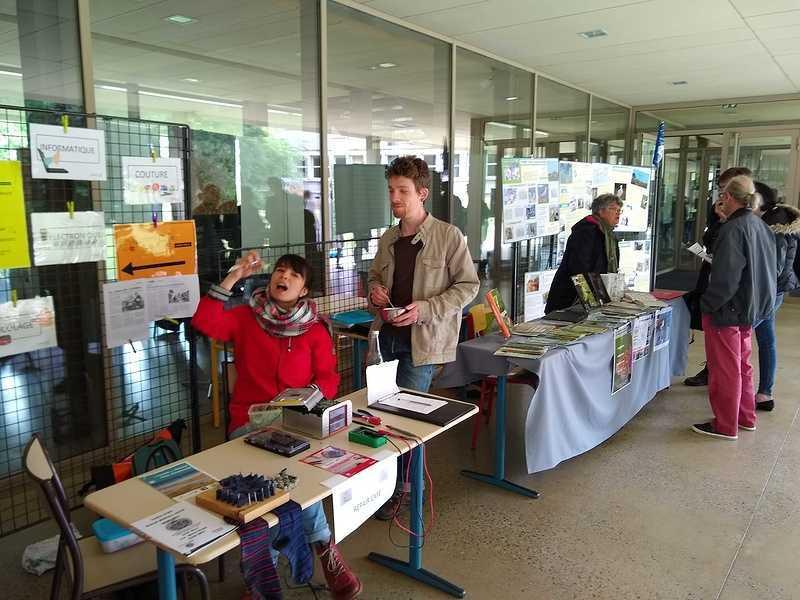 Forum des associations écolos au lycée : une première édition réussie img20190516142817660