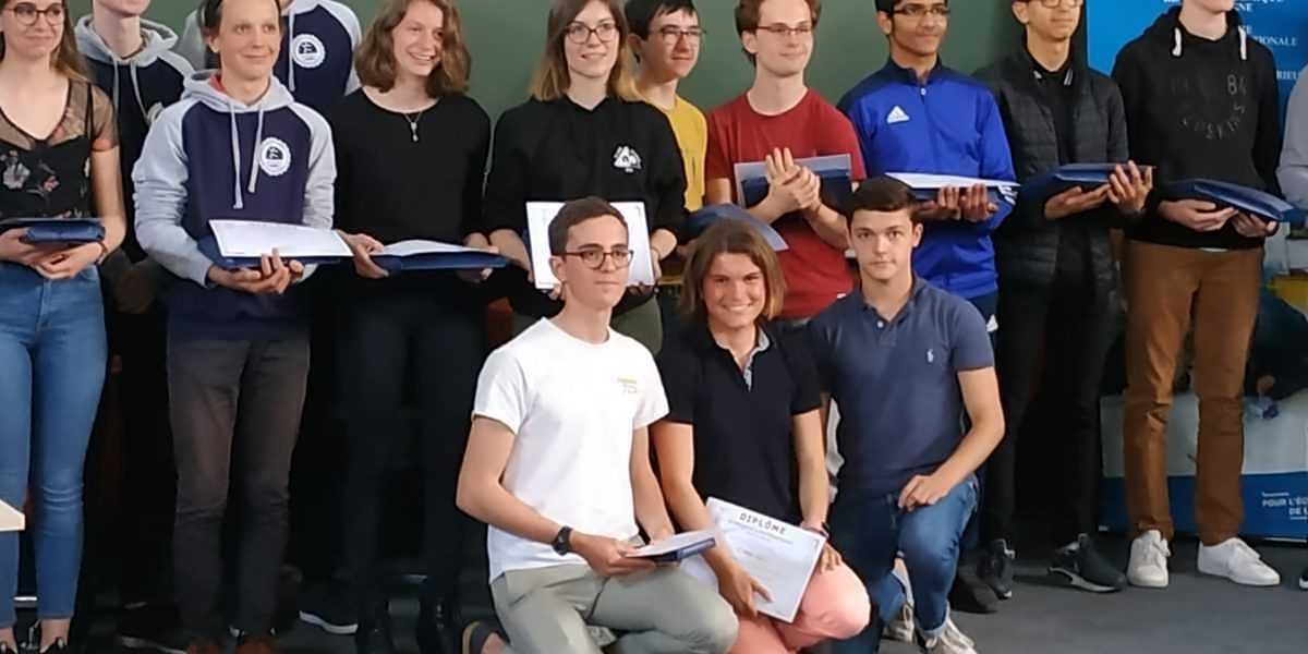 Une lauréate aux Olympiades de mathématiques 1-olympiade-2019-maths
