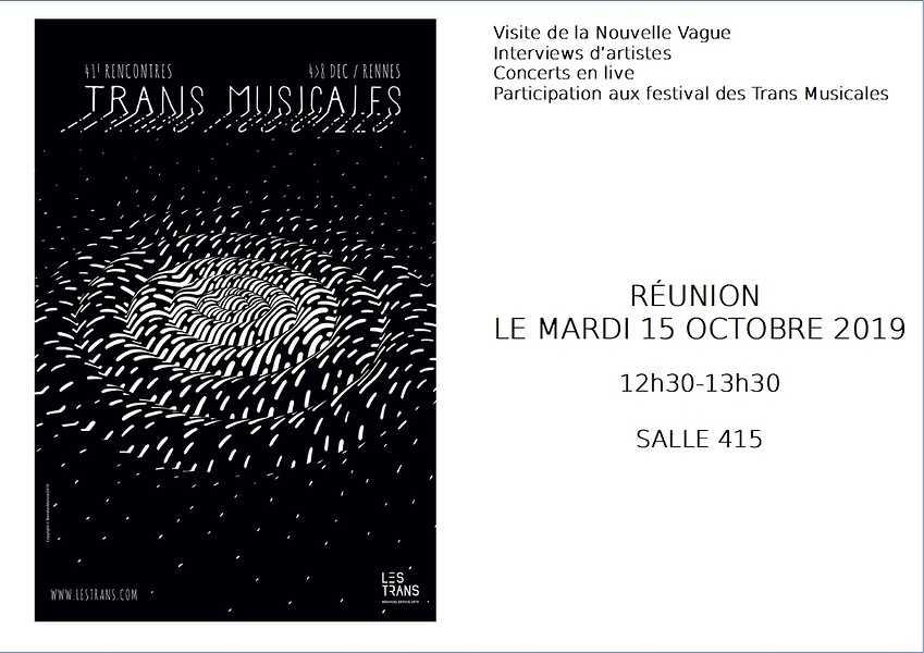 Les TRANS MUSICALES de Rennes c''est reparti ! 0