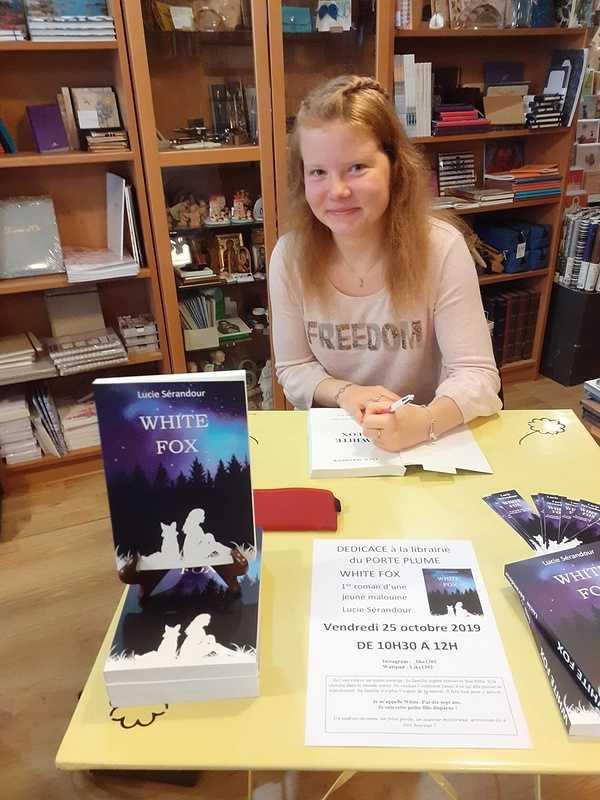 À 17 ans, la jeune Malouine publie son 1er roman 0