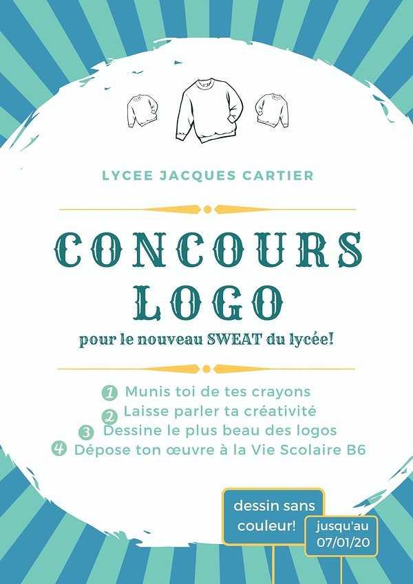 Un concours de logo pour le nouveau sweat du lycée ! 0