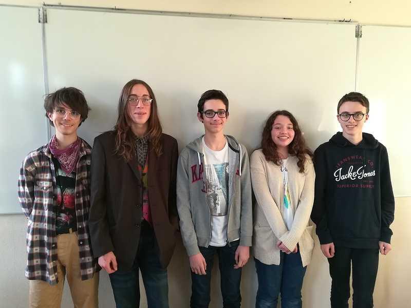 7 élèves de la 2nde C remportent la 2ème place du Rallye Mathématiques de Bretagne 0