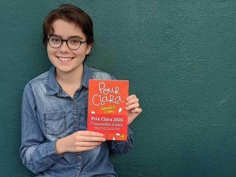 À 15 ans, Loreleï remporte le Prix Clara et sa nouvelle est publiée 0